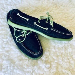 Sperry top sider suede shoes sz 11.5